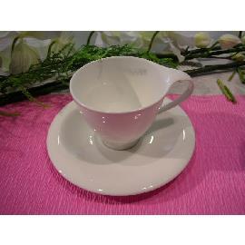 FLARE WHITE TAZZA CAFFE' C/P