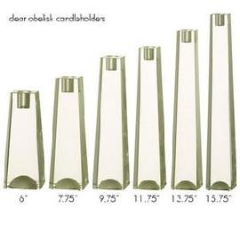 BLOCK GLAS CANDELIERE CM.25