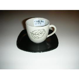 BLACK&WHITE TAZZA CAFFE' C/P